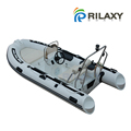 Rilaxy Recreational Boat 230cm - 400cm Small rigid Fiberglass hull inflatable Boat
