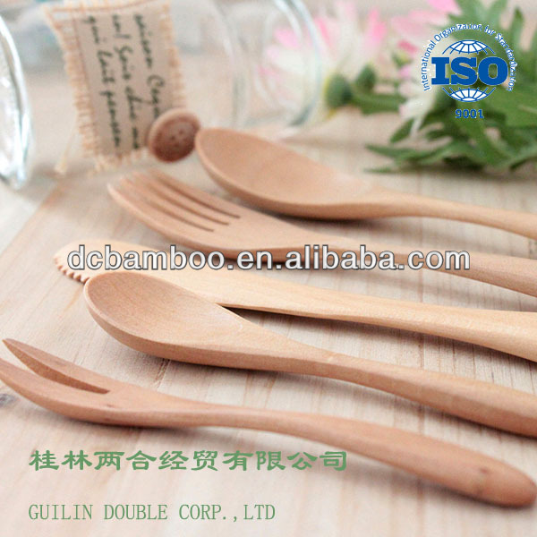 Bamboo Spoon/Fork/Knife