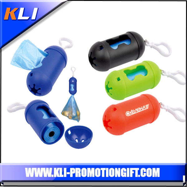 Customs plastic pet dog poop bag dog waste bag dispenser