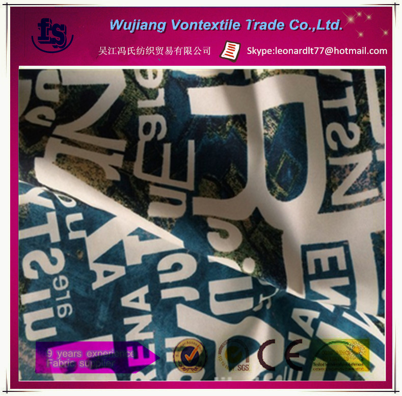 WU JIANG supply 100% polyester microfibre twill peach skin fabric with PA for beach shorts,cleaning cloth,pants etc
