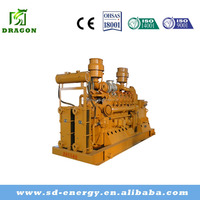 Natural Gas Generator price 350KW with leroy somer engine