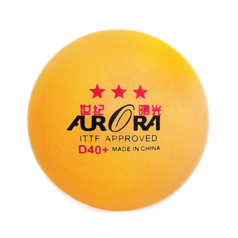 AURORA Professinal ITTF Approved  3 star table tennis ball top quality pingpong ball