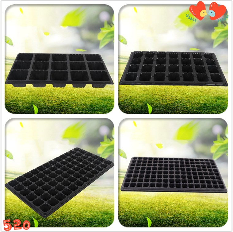Hard and good quality plastic seedling starter tray