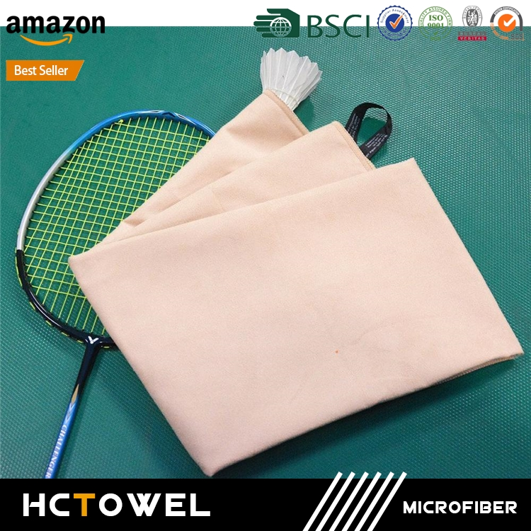 New design microfiber sports towel in mesh bag with great price
