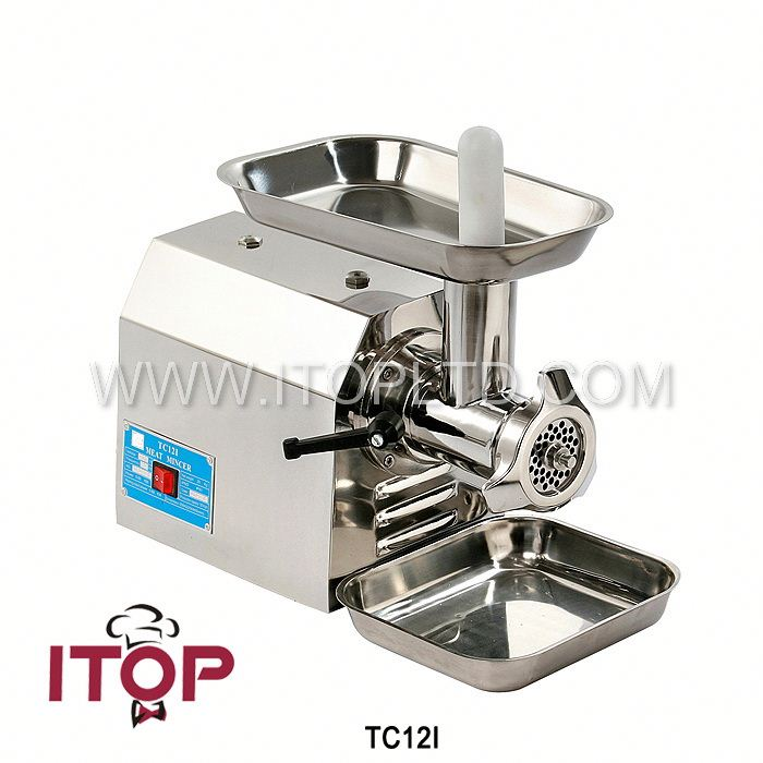 stainless steel meat mincing machine/industrial meat mincer