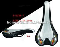 Imitation Learther Cover MTB Bike Saddle