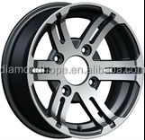 china custom best price aluminium new design alloy wheels for cars, 10 inch, 12 inch(ZW-S058)