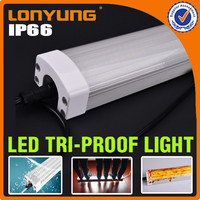 Hight quality TUV Saudi Arabia 3feet 90cm 40w ip65 waterproof fluorescent fitting