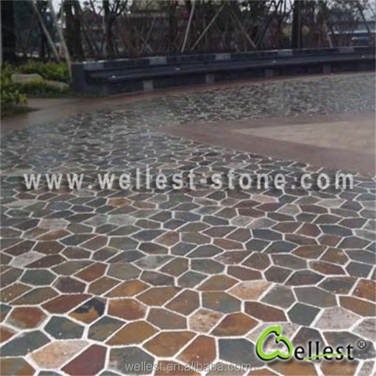 Rustic Slate Patio Paver Lowes