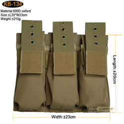 military AK magazine pouch,triple magazine pouch for AK magazine clip