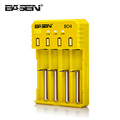 4 Slots Basen BO4 18650 battery charger 2A fast charger 18650 26650 18350 14500 charger