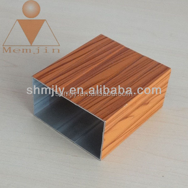 OEM hot selling bend aluminum square tube