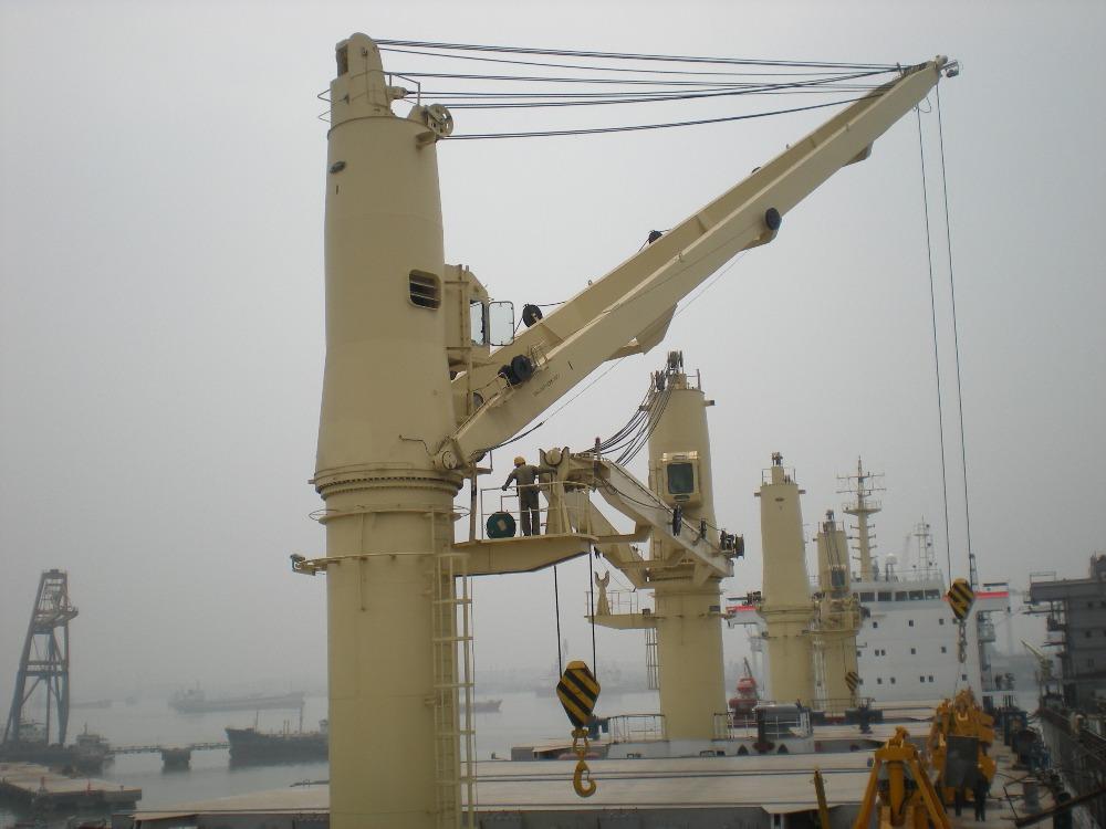 Yacht Hydraulic Crane : Hydraulic marine deck crane buy