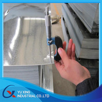 zinc coated steel sheets/14 gauge galvanized steel sheet