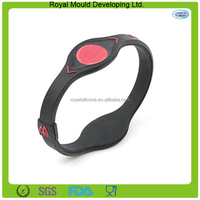 Personalized Fashion Designs Silicone Wrist Rubber Band Wristband Keychain Unit