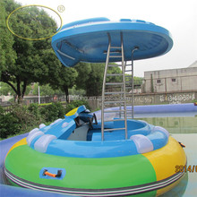 summer promotion Funny fiberglass bumper boat adult electric bumper boats for sale