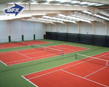 High Quality Cheap Prefabricated Steel Structure Frame Sport Hall Building