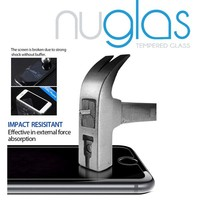 Nuglas 2015 Newest Tempered Glass Screen Protector for Apple iPhone 6 with 0.3mm 9H Hardness 2.5D Round Edge, Accept Paypal