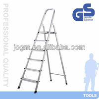 retractable aluminium cat ladder for home use with six steps
