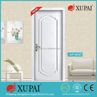 xupai design Rustic Mahogany Type Prefinished Distressed V-Groove Solid Wood Speakeasy Front Door Slab