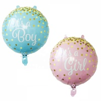 china birthday party items new product ideas 2019 baby shower party decoration balloons boy girl foil balloons