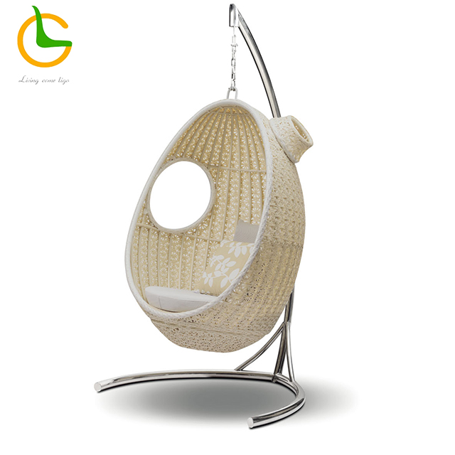 2018 Hot design high quality rattan egg hanging chair