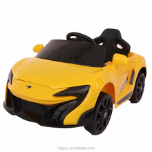 cheap Parental control 6V battery Mclaren kids ride on cars baby electric toy car to drive