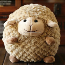 Super adorable and cute sheep doll round ball shape sheep toy soft stuffed plush animal doll