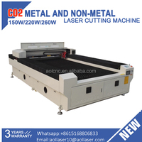 AOL 1325 high speed cnc laser wood and metal cutting and engraving machine
