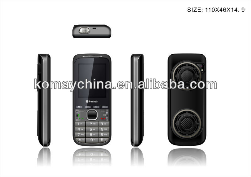 KOMAY Dual sim Q3 low cost cellphone , GSM ,quad band,q3 mobile phone