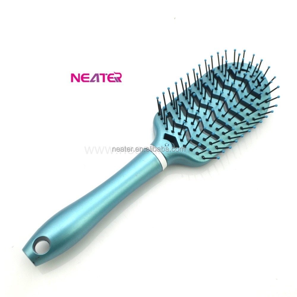 Professional plastic women salon quality hair brush,hair brush