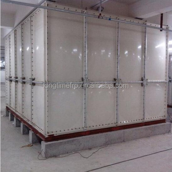 China good quality and best price sectional combined SMC/GRP/FRP water tank manufacture