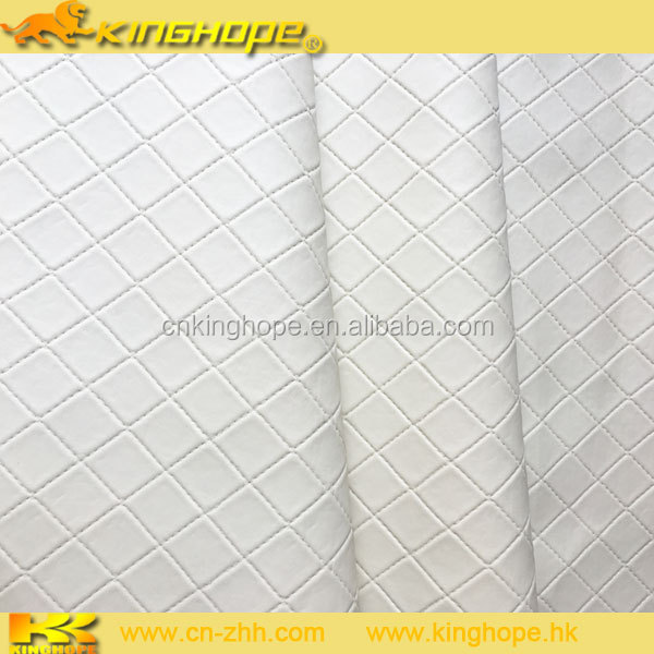 Embossed Pattern and PVC Material stocklot leather