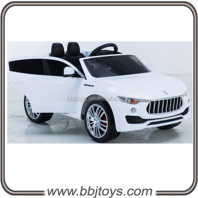 New 12V Battery Powered Kids car with Double Seat, Ride On Toy Car with 4 Wheel