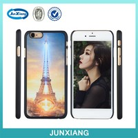 4.7 inch Plastic night light eiffel Tower case for apple iphone 6
