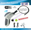 Witson 8.00mm camera head with built-in 4 led,WiFi inspection camera endoscope support Android Apple device(W3-CMP3813WX)