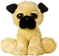 Factory direct sale big ears and big eyes plush stuffed dog