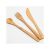Eco-friendly wholesale factory price bamboo knife and fork japanese kitchen knife set