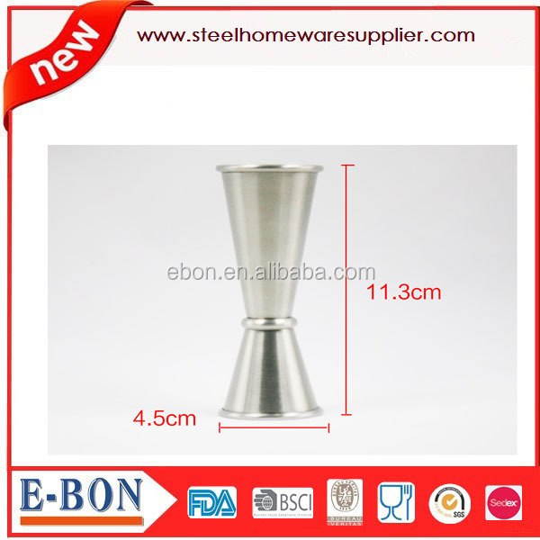 Stainless Steel Jigger Bar Measuring Cup