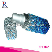 Rhinestone Empty Perfume Roll On Bottle