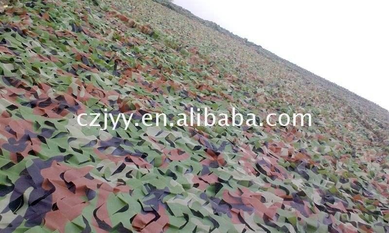 New product army multispectral anti- fire woodland camouflage net of Bottom Price