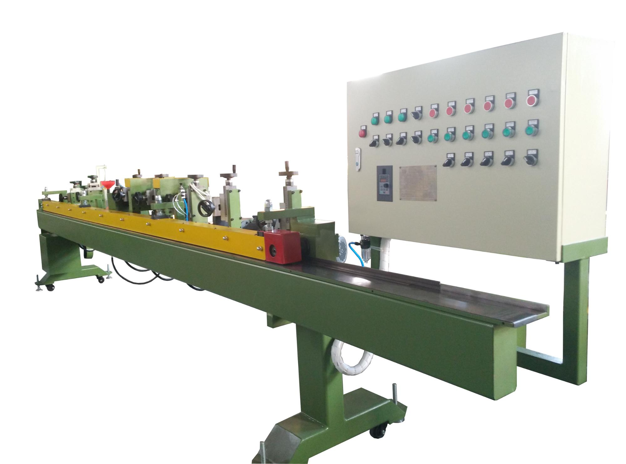 kx167 abrasive sanding belt making skiving machine