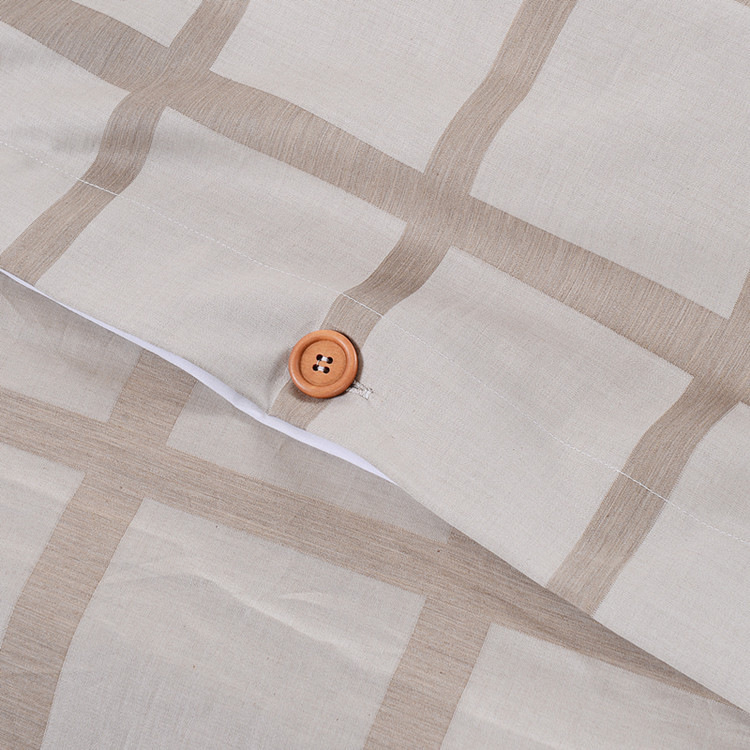 hotel textiles 100% cotton chequer jacquard single comforter bed linen sheet besheet bedding sets