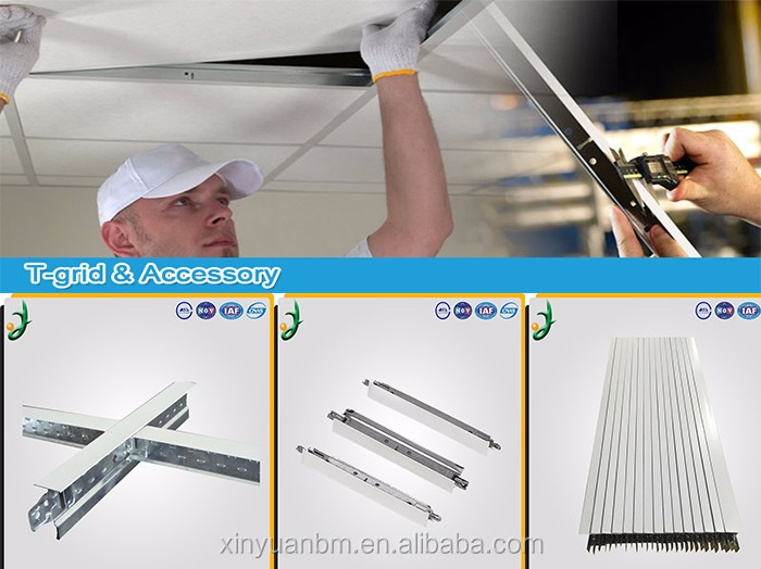 Suspended Ceiling T-grid System Ceiling T-bar FUT for Gypsum Board