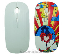 Heat press sublimation blank mouse custom logo printed computer mouse gaming mouse