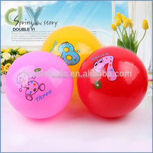 2015 New product cheap price rubber led bouncing ball / bounce back ball / super high bounce ball