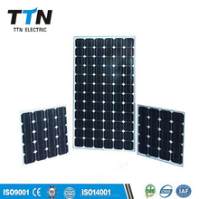 Lowest price and high efficiency mono 100 watts solar panel for roof and ground