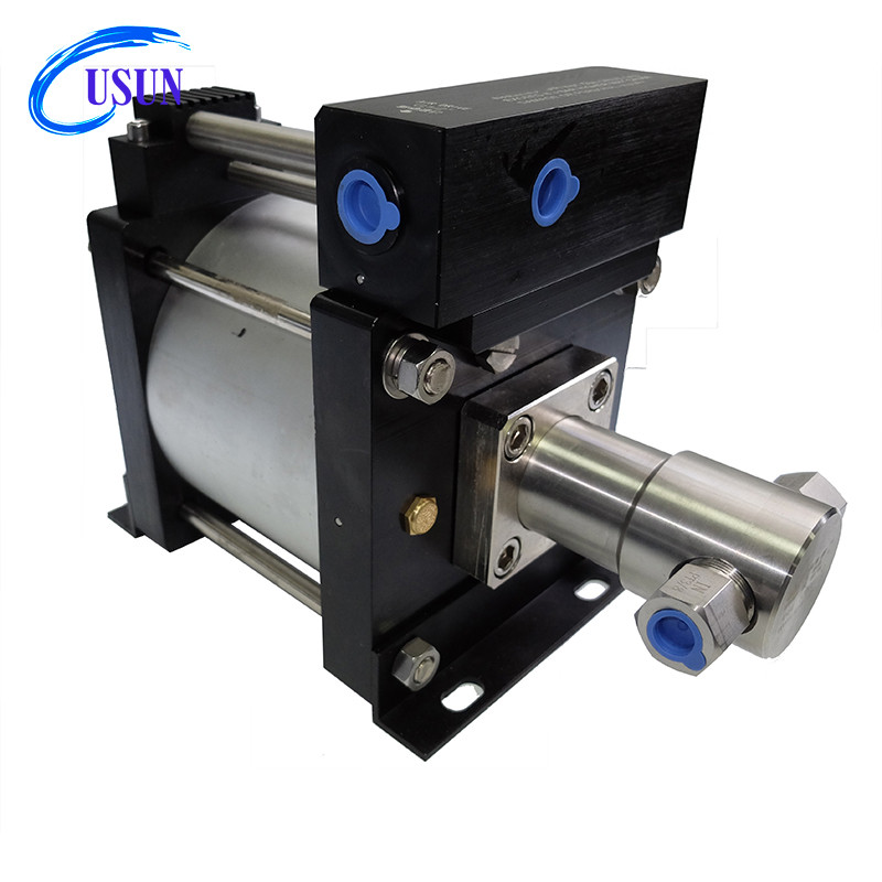 Hot sale USUN Model:AH130 400-1000 Bar output High pressure air oil pump for oil field industry