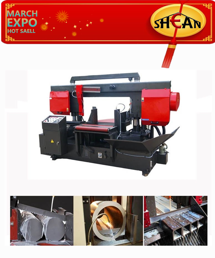 Factory Sale Good Quality Hydraulic Bandsaw Metal Cutting march expo