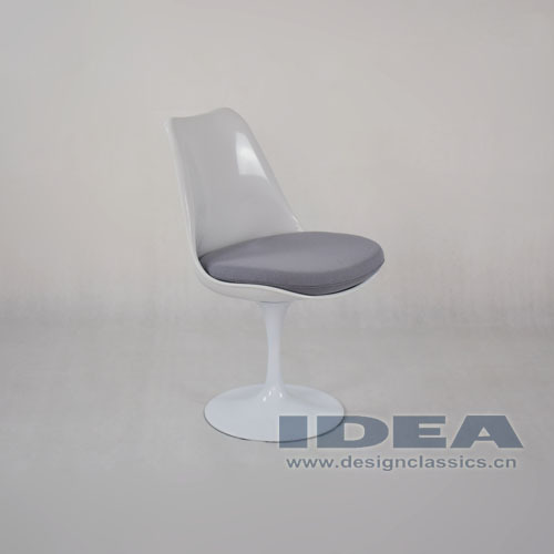 Tulip Chair Replica replica eero saarinen tulip chair - grey cushion - buy replica